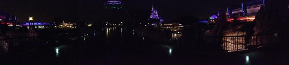 Disney at Night