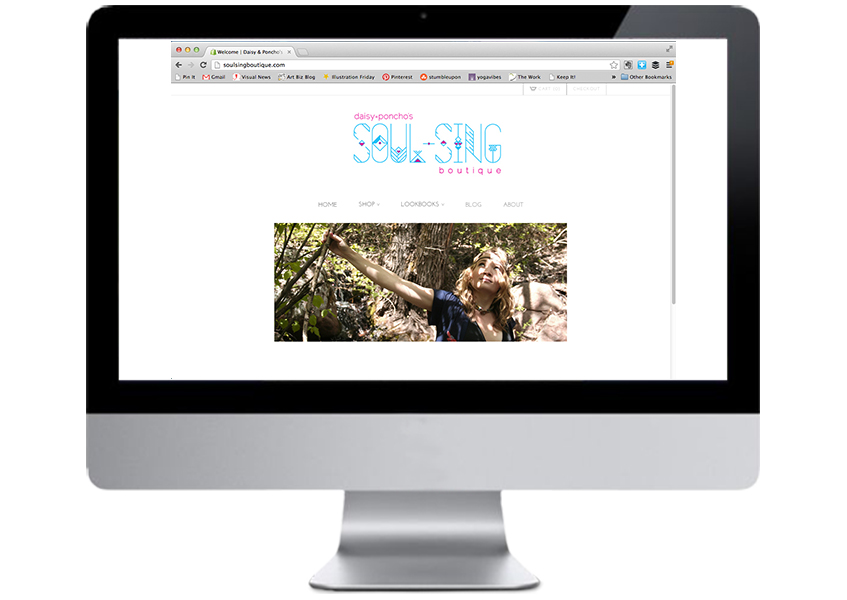 Soul-Sing Boutique website