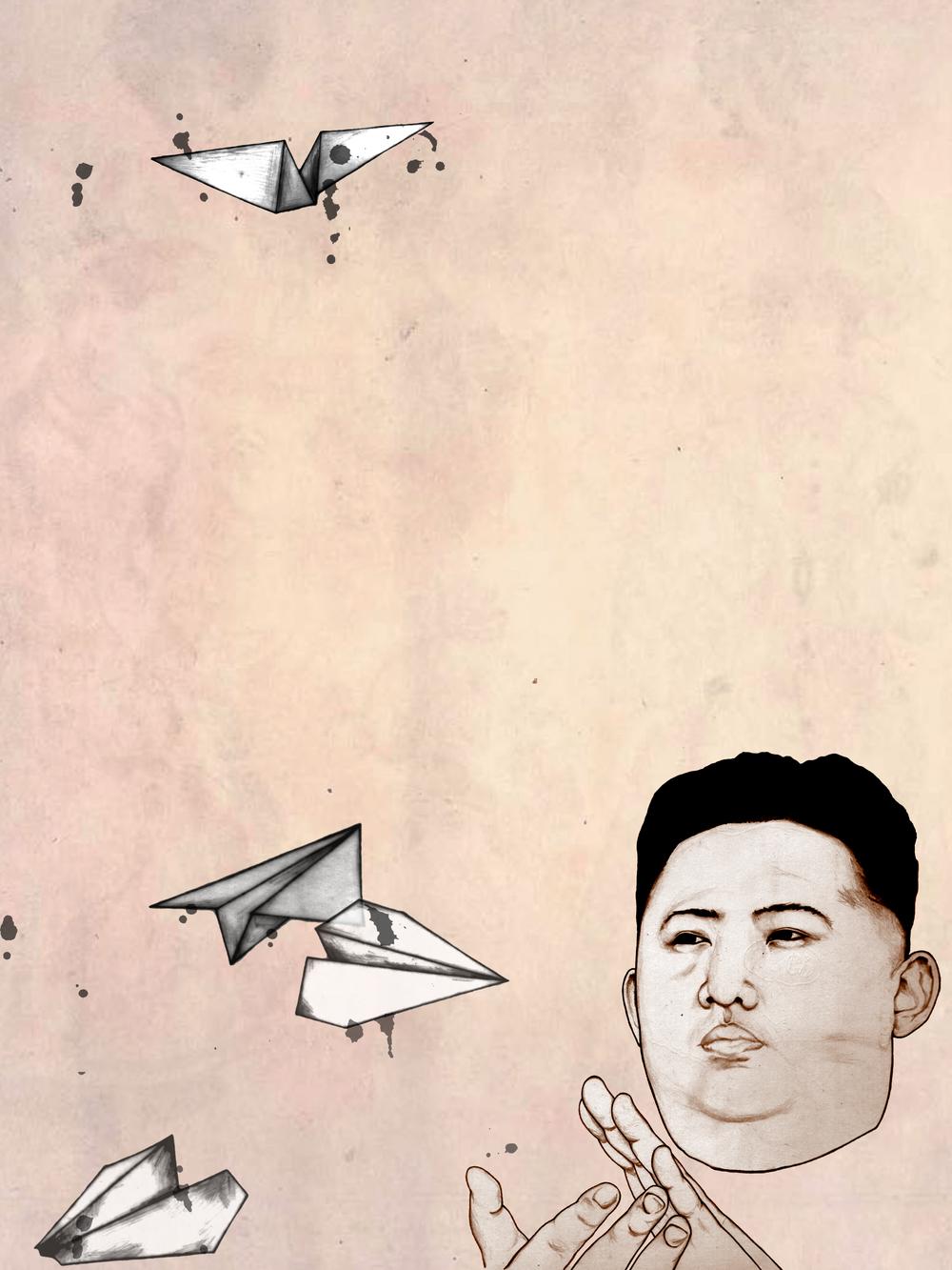 Kim Jong-un concurs
