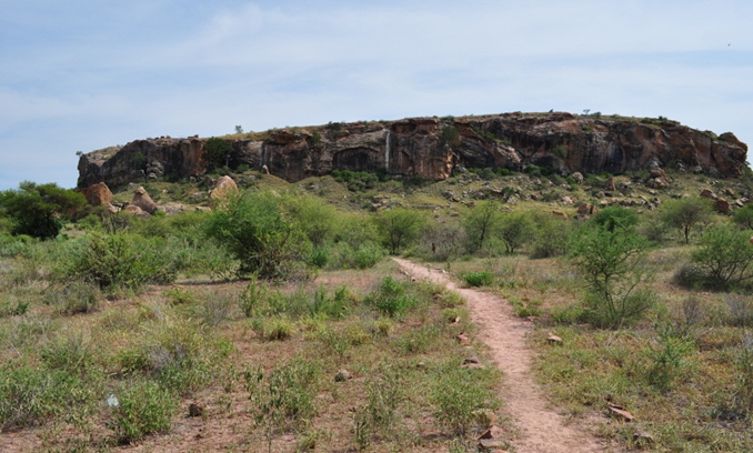 Mapungubwe Hill, capital of the sophisticated Iron Age Mapangubwe Kingdom, which traded with countries as far afield as China and was first inhabited around 1220