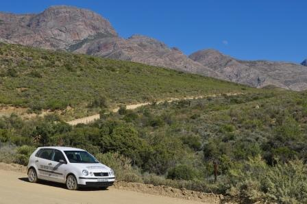 On the dirt road toMeiringspoort