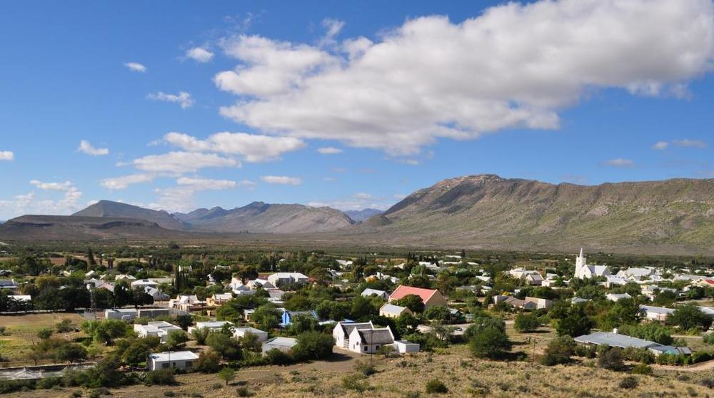 Prince Albert and the Swartberg mountains