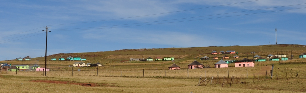 A rural community in the Ciskei lacking most basic services