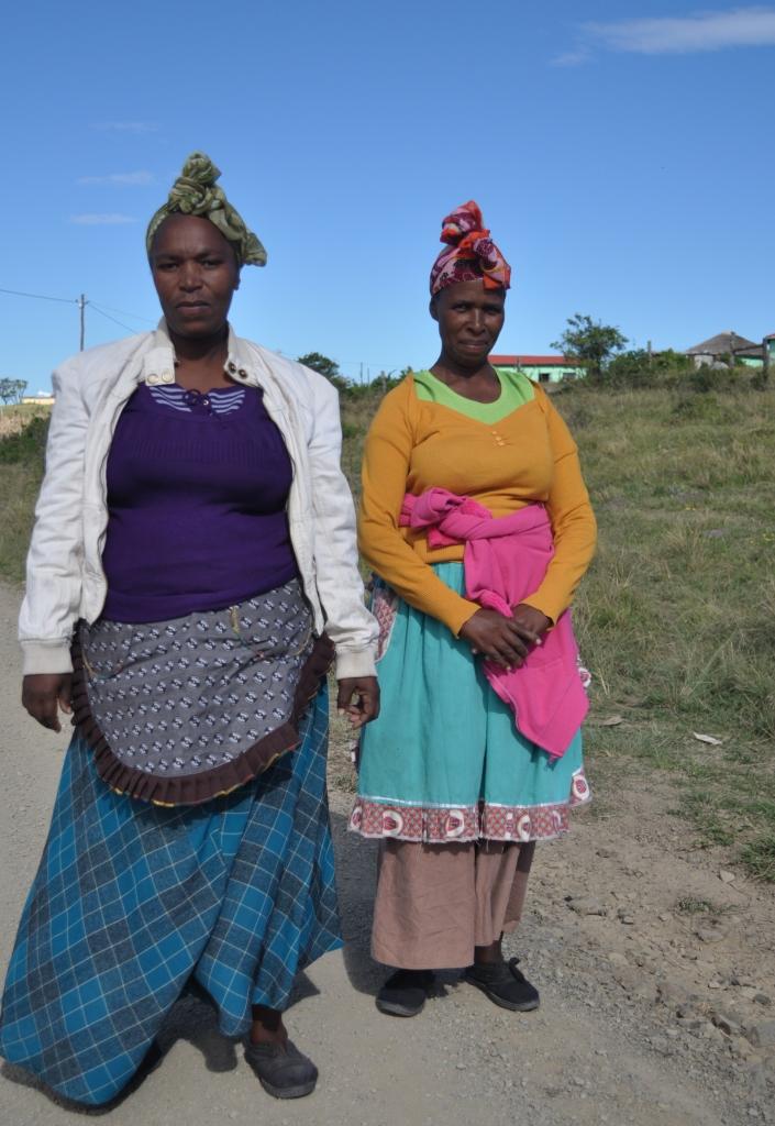 Two women in the Ciskei