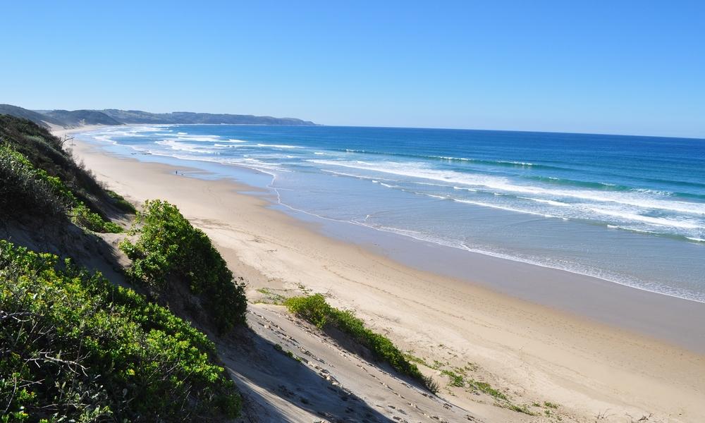 A Wild Coast beach