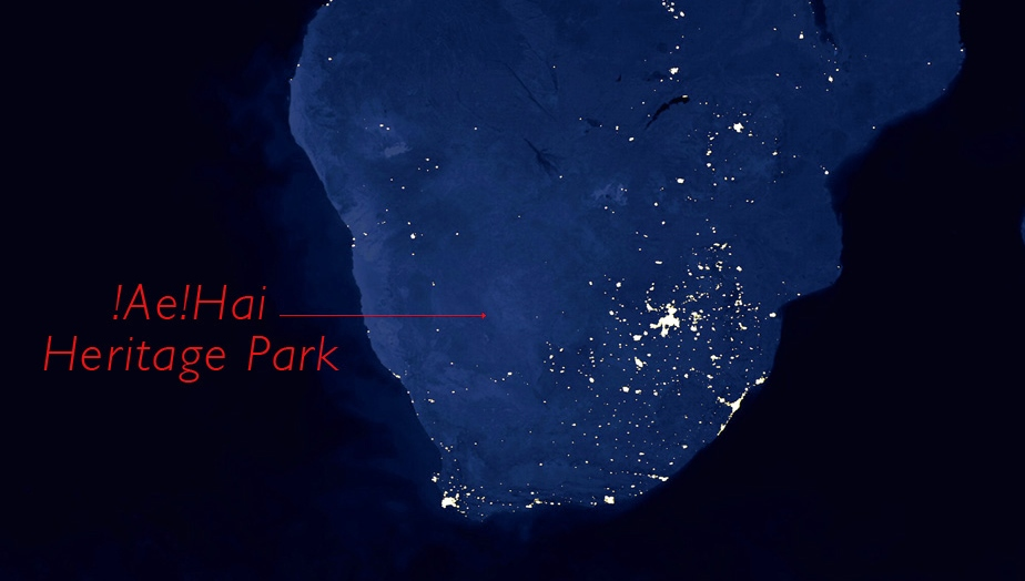 Dark skies in southern Africa