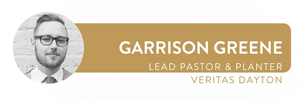 Garrison is the lead pastor and planter of  Veritas Dayton . He is responsible for vision, teaching, shepherding, and leading Veritas. Follow him  @garrisonkeith .