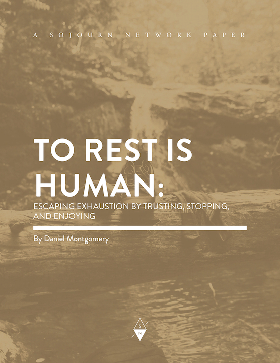 To Rest Is Human By Daniel Montgomery