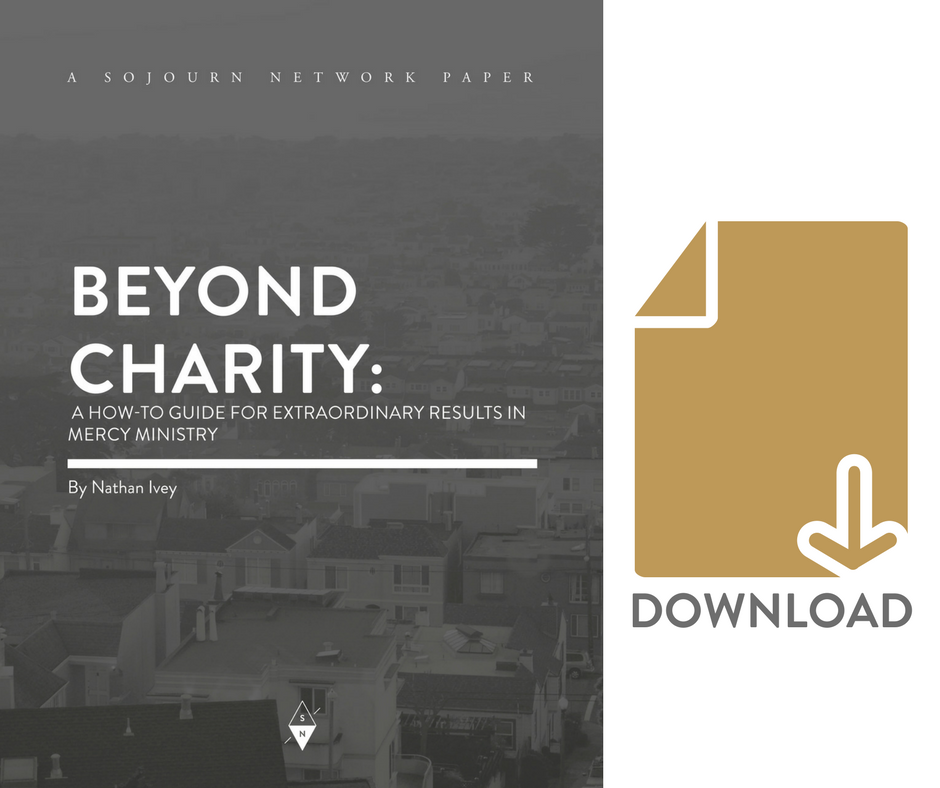 Free Resournce on how to achieve extraordinary results in your local church's mercy ministry.
