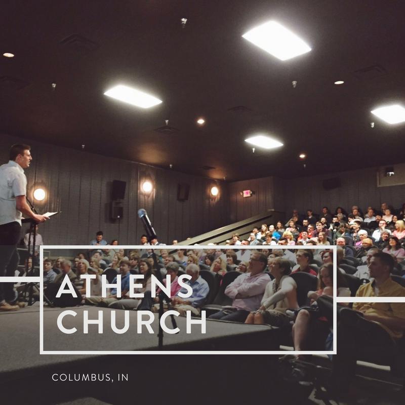 Athens Church   Columbus, Indiana