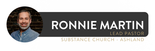 Ronnie Martin is lead pastor of Substance Church (EFCA) in Ashland and Wooster, Ohio. He is the author of  Stop Your Complaining  and co-host of  The Happy Rant  podcast. You can follow him on Twitter:    @ronniejmartin .   This post was originally published over at  AmICalled?  and is republished with permission.