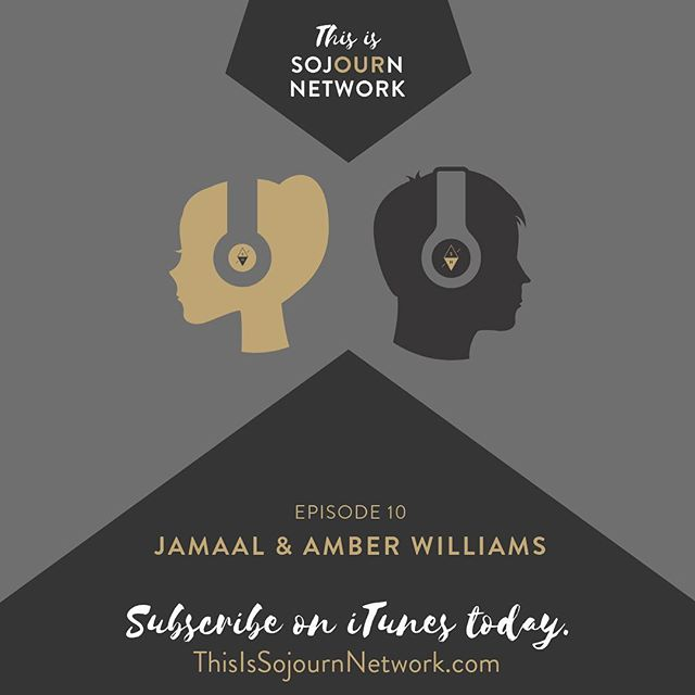 If you haven't listened to Episode 10 of the This is Sojourn Network podcast with Jamaal & Amber Williams (@jamberw), then you should go do that now. @revdaveharvey interviews them about their journey in the ministry and the Leaders' Summit in Louisville next week would be a great place to meet up with them and share stories. You can find the podcast on iTunes or via the link in the photo. There's still time to register for the Leaders' Summit, the link is in our bio.