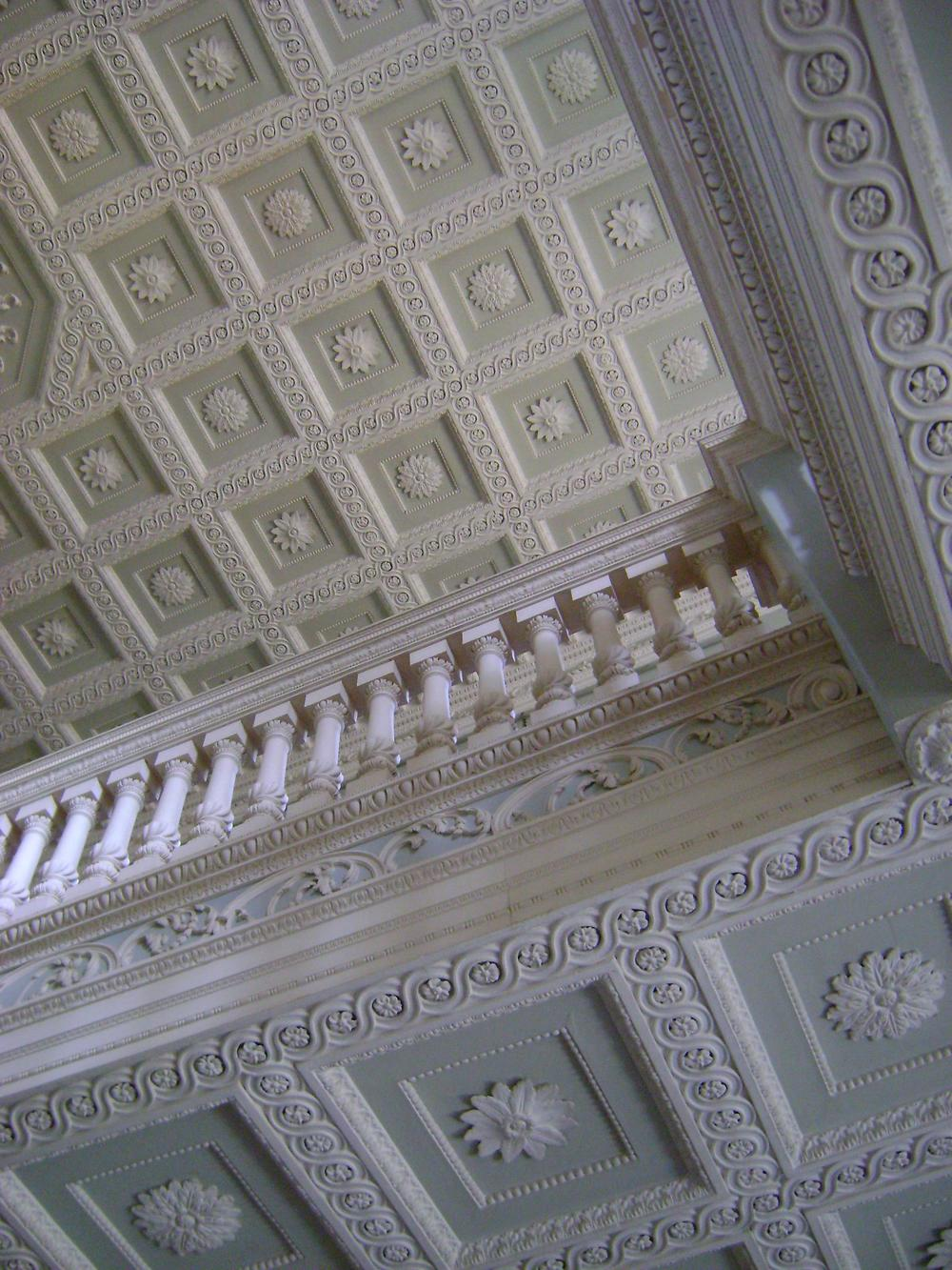 Ornamental plasterwork