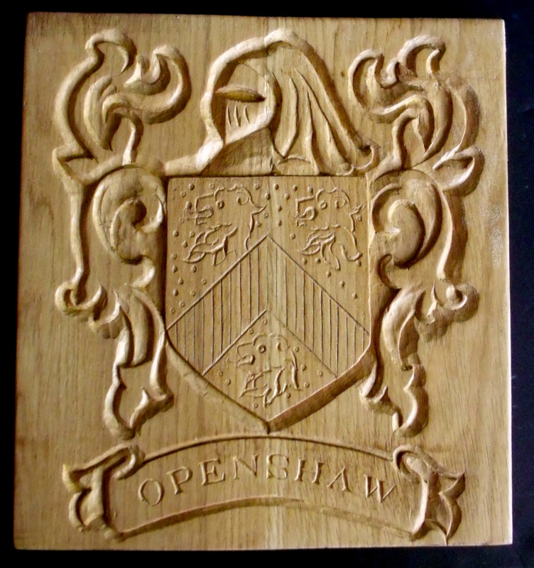 'Openshaw' Coat of Arms