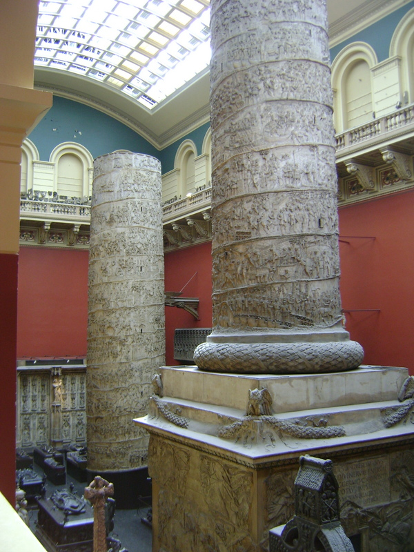 Plaster casts of Trajan's Column