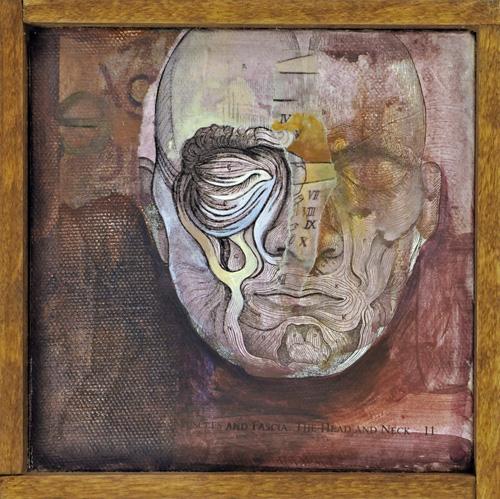 Memory , mixed media on canvas, 2012