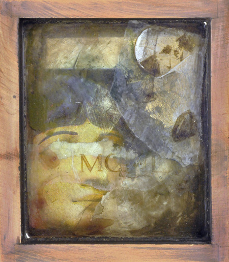 A. Martin, mixed media in resin, 2012
