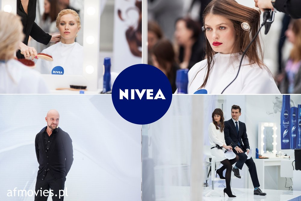 Nivea event in Warsaw.
