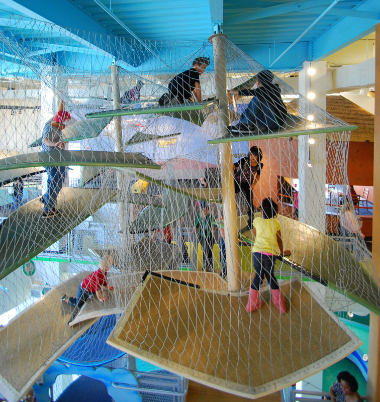 Luckey Climbers Challenge and Build Confidence