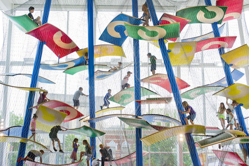 Luckey Climbers are One-of-A-Kind Artistic Structures