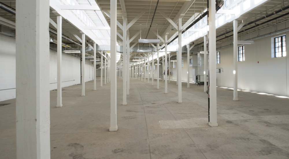 Shown here: the remaining undeveloped space in the Museum that you can help us fill with vibrant interactive exhibits by supporting the campaign