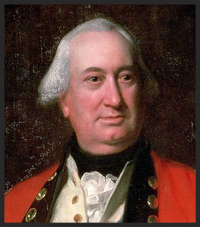 Lord Charles Cornwallis.  Now there's a face begging to get smacked.