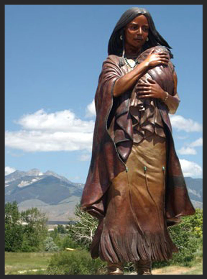 Sacagawea was one tough mother.
