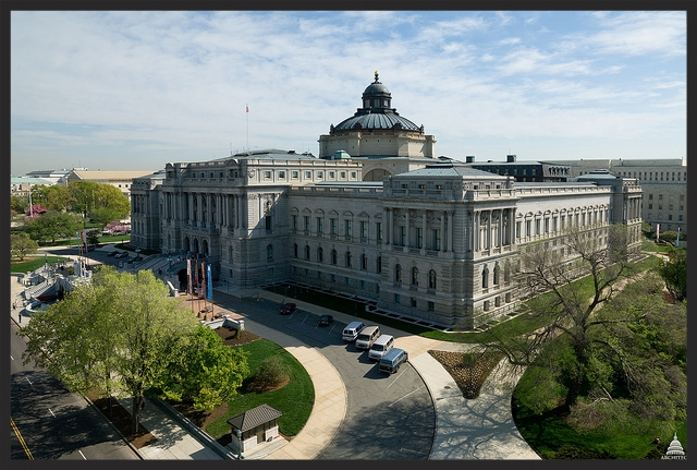 The Jefferson Building is the most iconic amongst all those belonging to the Library of Congress.