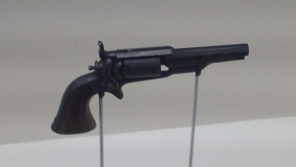 The pistol given to Varina Davis by Jefferson Davis during the evacuation of Richmond.