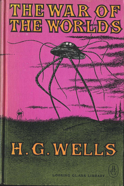 "Written by H.G. Wells, ""The War of the Worlds"" tells the story of an alien invasion of Earth."