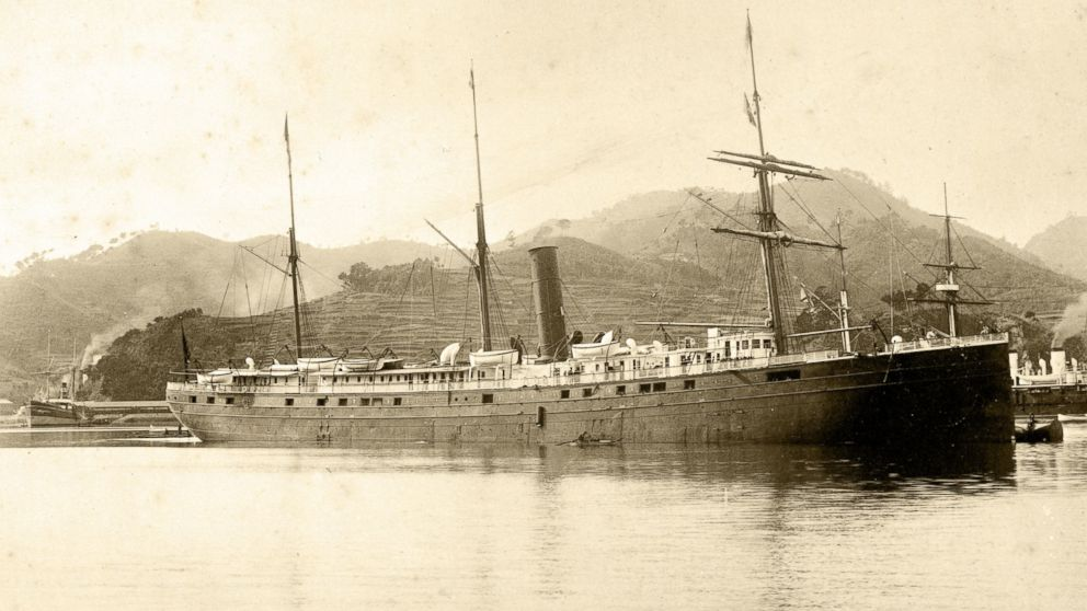 The  SS City of Rio De Janeiro  began life ferrying goods and passengers between Brazil and the United States. Eventually repurposed to sail the Pacific and journey from Hong Kong to California, the vessel survived service during the Spanish American War and a Japanese typhoon only to meet her end at the storied Golden Gate entrance to San Francisco.