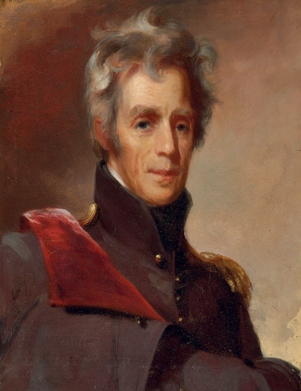 Andrew Jackson's men said that he was as tough as 'old hickory'.  The nickname would stick with him throughout life.