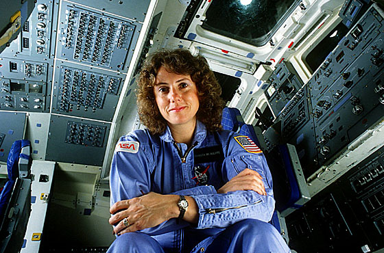 Christa McAuliffe, a teacher from Concord, New Hampshire, was among the crew members who died that day.
