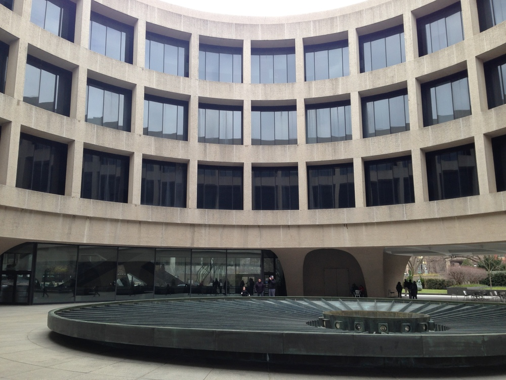 The Hirshhorn Art Museum