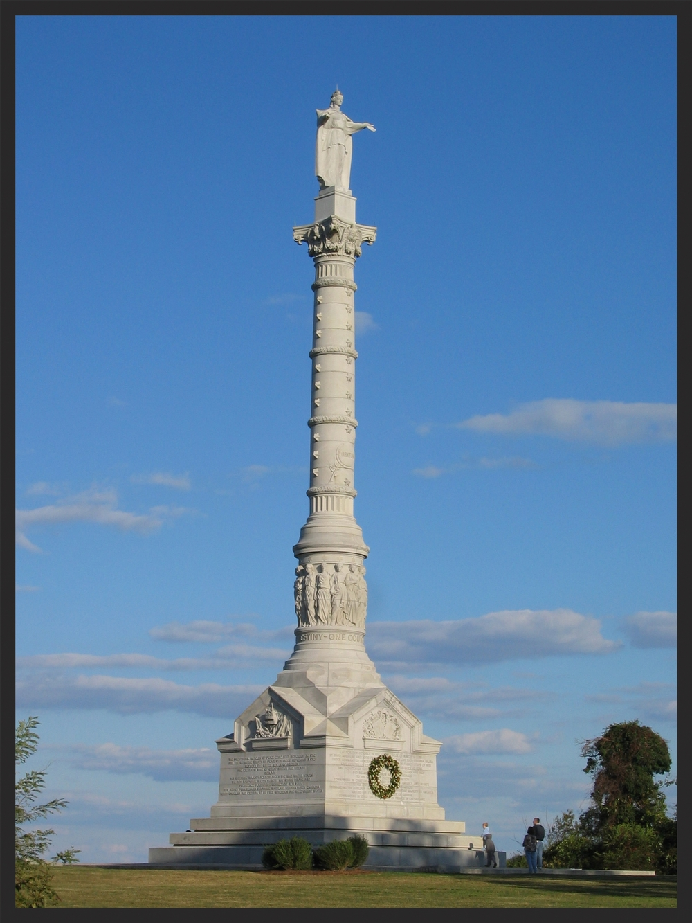 The Yorktown Monument is a highlight of any Yorktown battlefield visit.