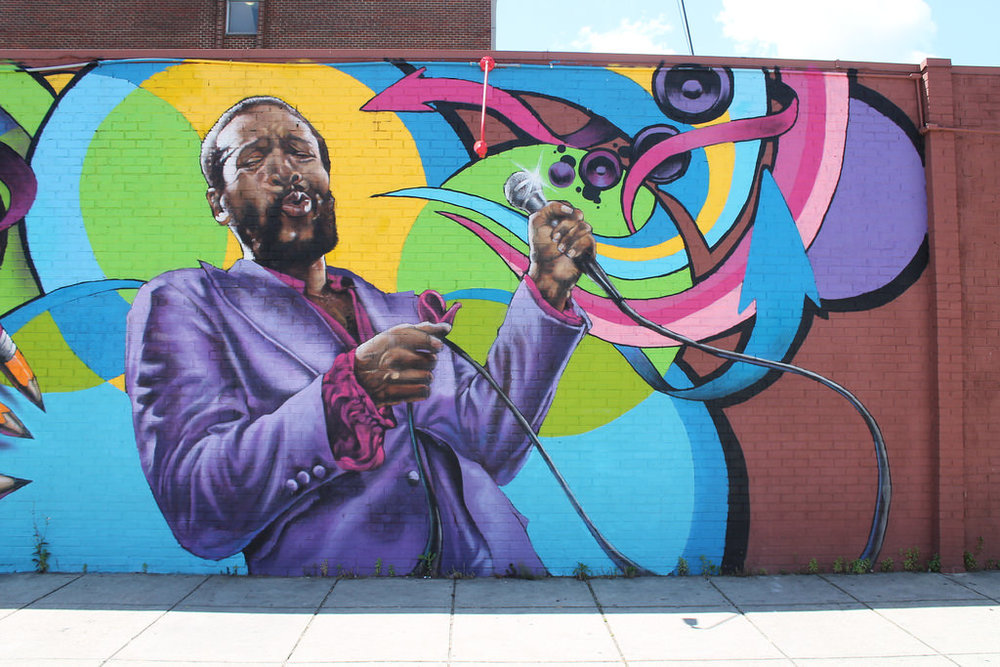 Music & Murals - Timeless music and the city's finest street art along DC's Black Broadway. Walking. Approximately 2 / 2.5 hrs.