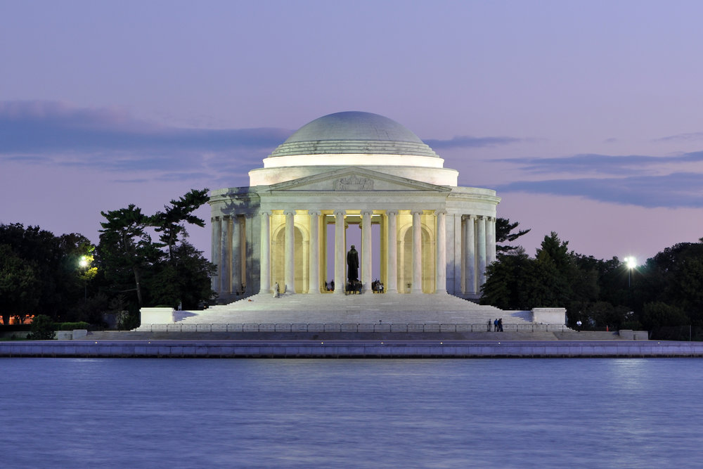 The Tidal Basin - A scenic filled shoreline filled with historic memorials. Walking. Approximately 2/2.5 hrs.