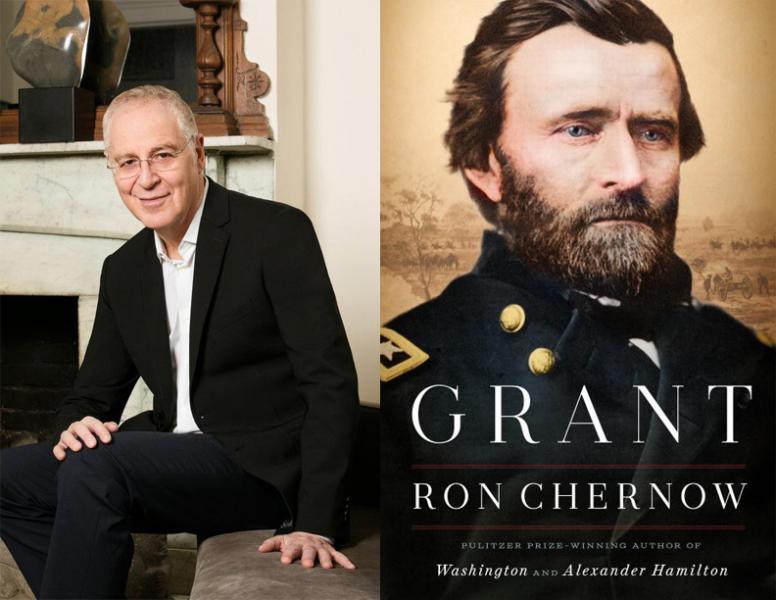 Chernow (left) and the Hero of Vicksburg (right.)