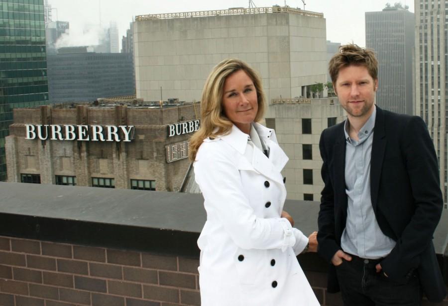 Angela Ahrendts & Christopher Bailey
