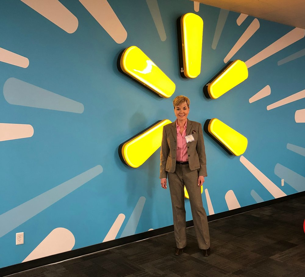 Carol Spieckerman presented her latest Retail Trajectories to Walmart's marketing and merchandising teams