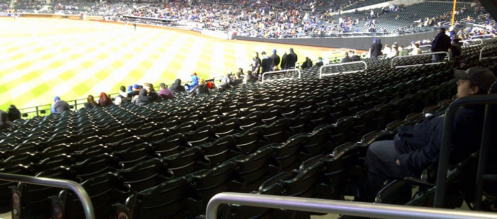 No-Go Zone at Citifield