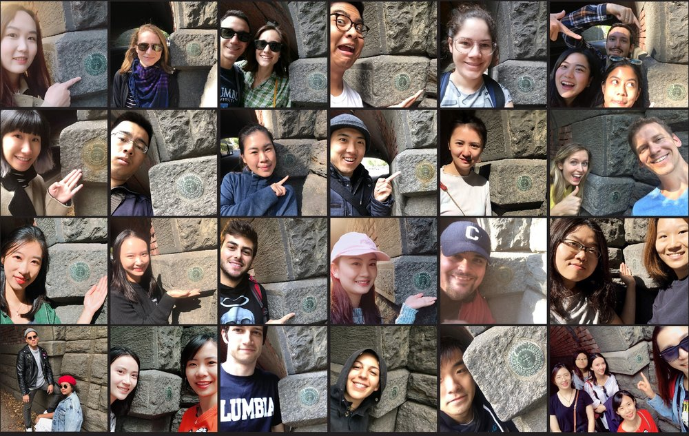 the best part of my fall '17 inbox: benchmark selfies from the GIS class