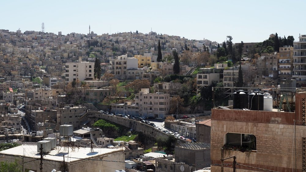 Amman, from the  Darat Al Funun  gallery.