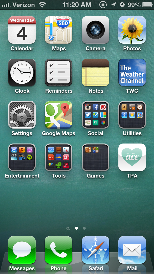 Add TPA to your home screen! | That's Pretty Ace