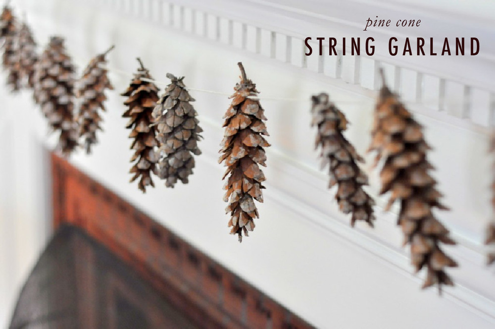 Pine Cone Garland | That's Pretty Ace