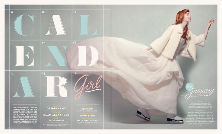 Design Army, Calendar Girl | That's Pretty Ace