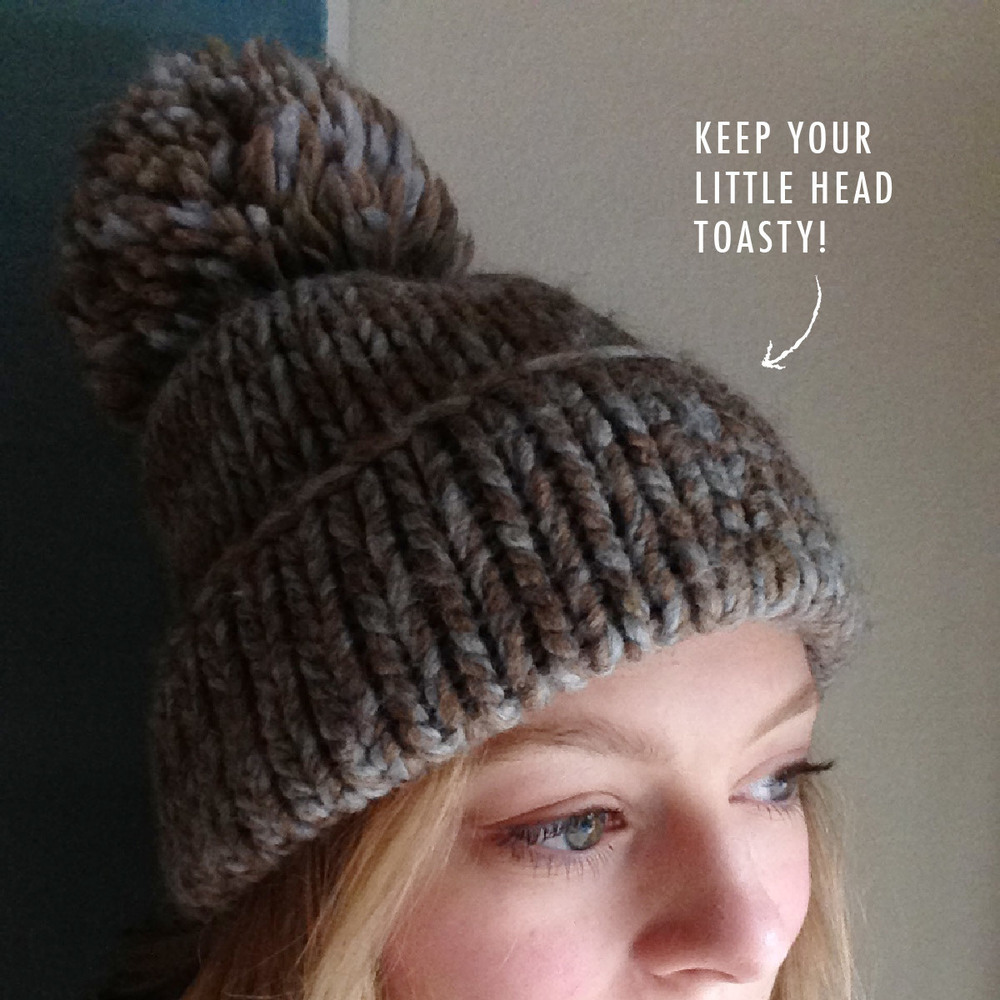 Keep your head warm. | That's Pretty Ace