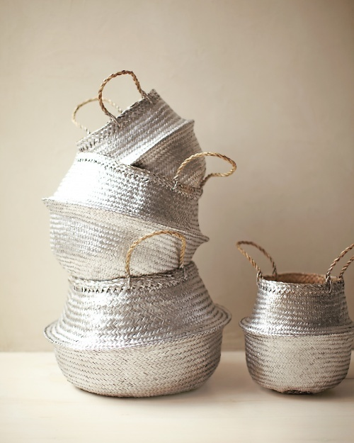 Spray Painted Baskets | That's Pretty Ace