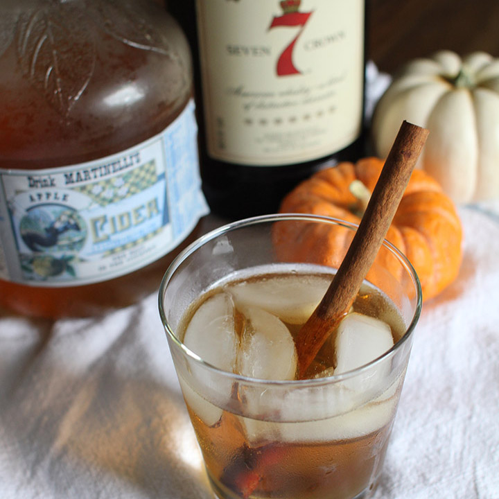 Cider-Whiskey Cocktail | That's Pretty Ace