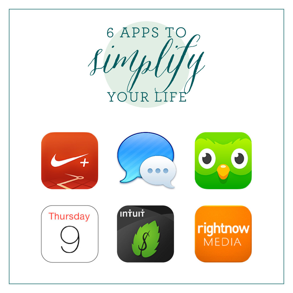6 Apps to Simplify Your Life | That's Pretty Ace
